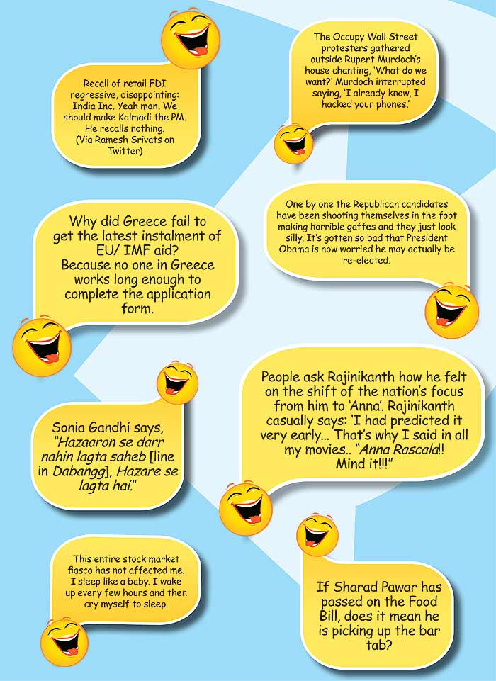 funny business. The Joke Is On Us. Seriously funny one-liners and ...