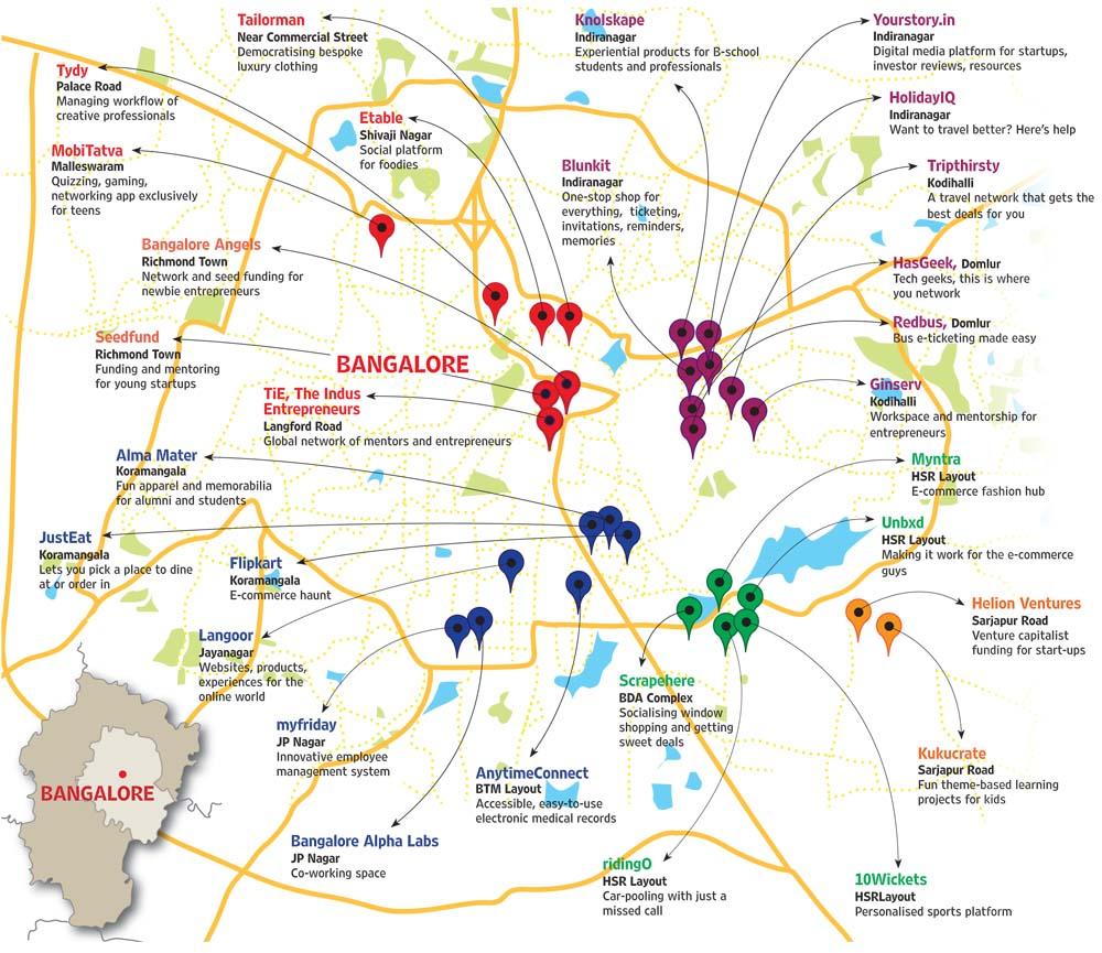 Free Banglore City Map