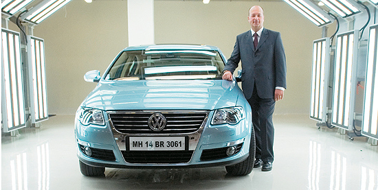 We're Starting From Scratch :  Joerg Mueller, Chief Representative of Volkswagen Group India,
