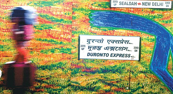 The newly flagged off colourful Duronto Express is a must try out for the