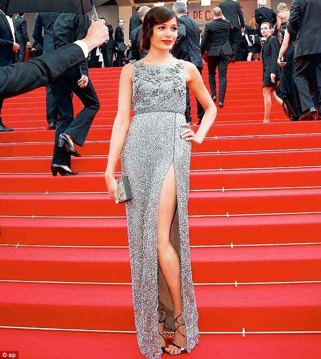 Freida Pinto In Sanchita At The Cannes Film Festival 2013