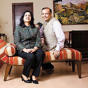 Punita Kumar-Sinha & Jayant Sinha