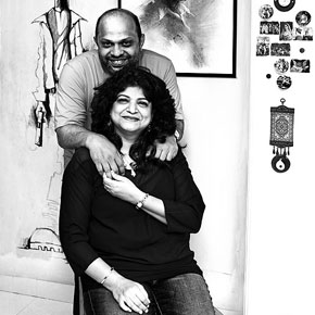 Nandini Dias & Agnello Dias